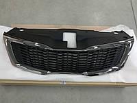 Решетка радиатора оригинал, Kia Rio 2011-14 QBR, 863504y000