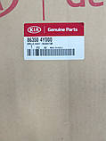 Решетка радиатора оригинал, Kia Rio 2011-14 QBR, 863504y000, фото 3