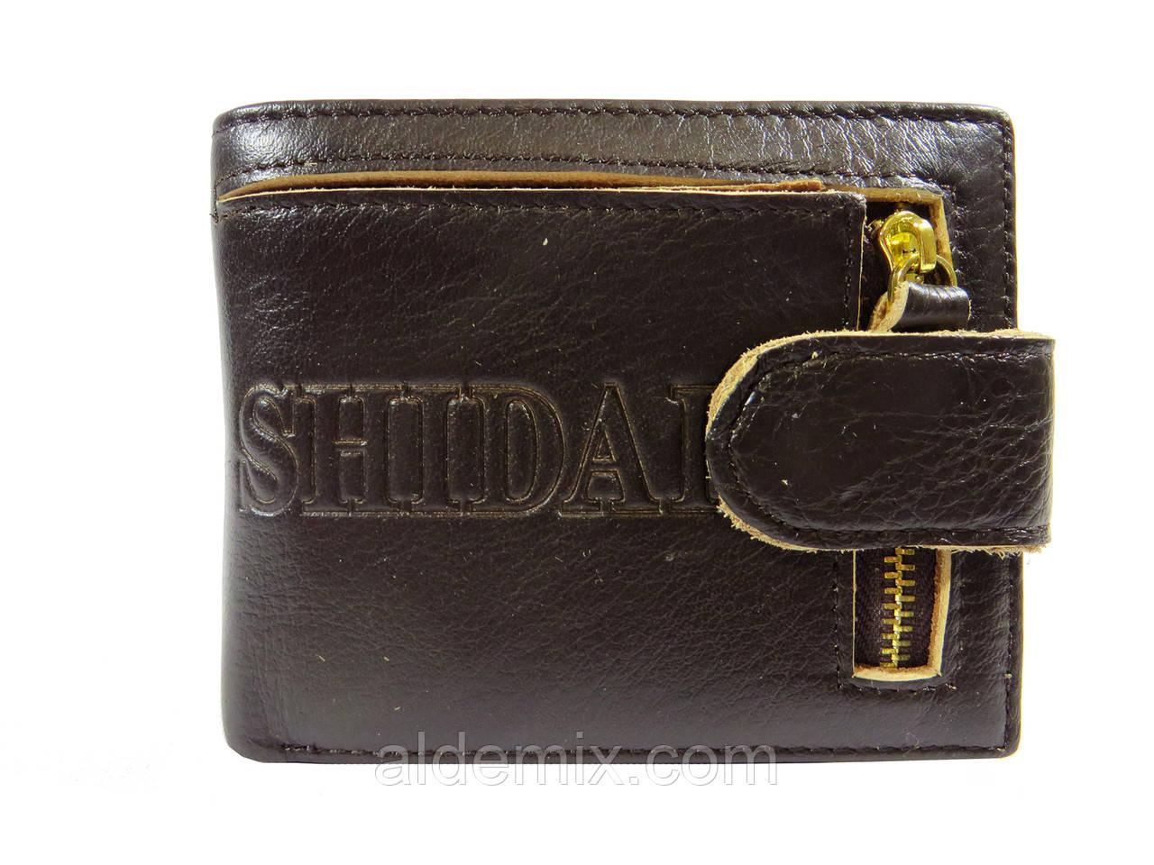 Мужской кожаный кошелек, фото 1