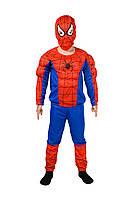 Костюм Человека - паука с мышцами красный