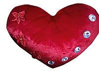 Декоративная подушка в виде сердца, музыкальная