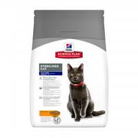 Hills (Хиллс) Science Plan Mature Adult 7+ Sterilised Cat корм для кошек с курицей, 3.5кг