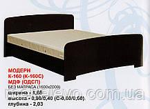 Спальня комплект 4Д Модерн  ДСП  Абсолют, фото 2