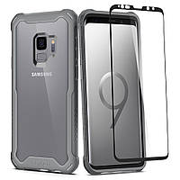 Чехол Spigen для Samsung S9 Hybrid 360, Titanium Gray, фото 1