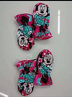 Варежки для девочек Minnie 3-6 лет