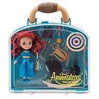 Игровой набор Мерида с мини куклой Disney Animators Collection Merida Mini