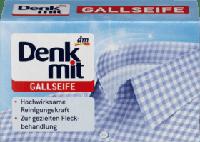 Denkmit Gallseife  желчное пятновыводящее мыло 100 г.