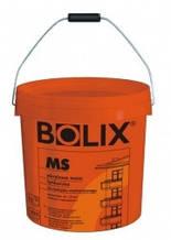 """Штукатурка акрилова машинного нанесення Bolix MS """"баранець"""" (фактура 1,0 мм), 30кг"""