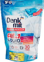 Denkmit All-in-1 Liquid Power-Tabs Капсулы для посудомоечных машин 30 шт.