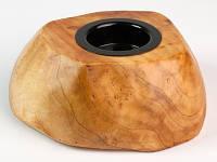Подсвечник настольный из дерева