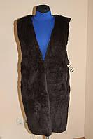 Длинная жилетка из натурального меха бобрика!, фото 1