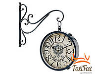 Вуличні годинники для дачі двосторонні 30 см
