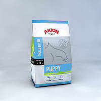 Корм Арион для щенков Ориджинал Паппи Мини до 10 кг Курица и рис, (голубой), 3кг +