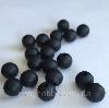 9мм (черный) круглая, силиконовая бусина, фото 2