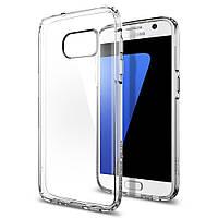 Чехол Spigen для Samsung S7 Ultra Hybrid, Crystal Clear