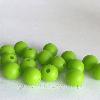 9мм (зеленый) круглая, силиконовая бусина, фото 2