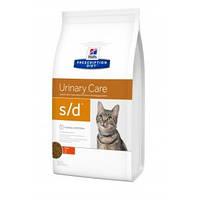 Hills (Хиллс) Prescription Diet s/d Urinary Care (струвитная МКБ) корм для кошек курицей, 1.5кг