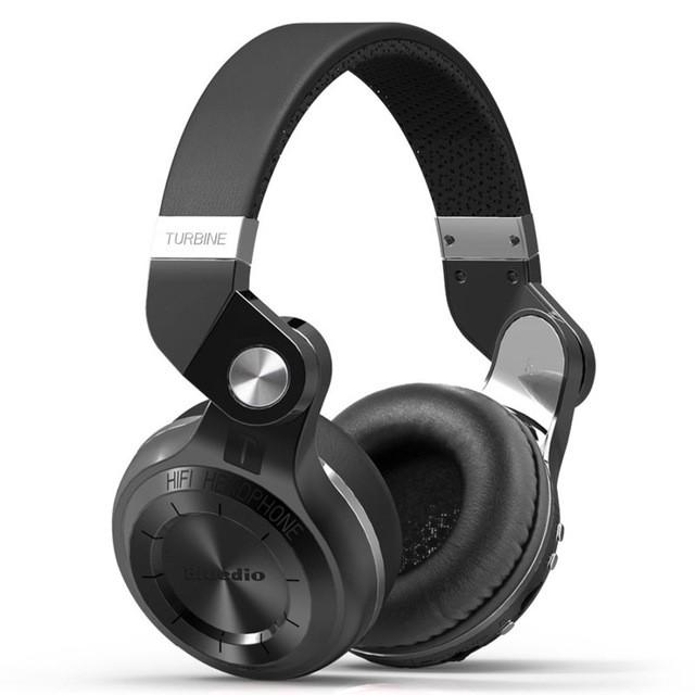 Беспроводные наушники Bluedio T2+ Black