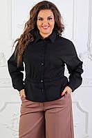 Рубашка черная, арт.1018, фото 1