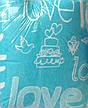 Байковое постельное белье двуспальное Мальва, фото 2