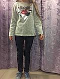 Утепленные джинсы для девочки 140 см, фото 2