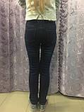 Утепленные джинсы для девочки 140 см, фото 5