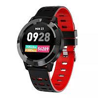 Фитнес-браслет CF58, черный,цветной экран,пульсомер,тонометр