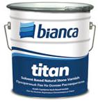 Лак для натурального камня, дерева, кирпича Titan Bianca , 2.5 л