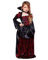 Карнавальный костюм Вампирша для девочки / Pr - 2093