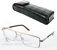 Очки мужские для зрения +/- (стекло) Код:2133, фото 1