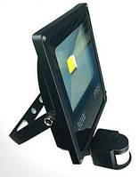Прожектор уличный водонепроницаемый 12 Вольт 30 Ватт с датчиком движения, фото 1