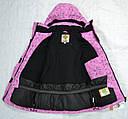 Зимняя куртка для девочки розовая (Quadrifoglio, Польша), фото 8