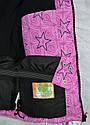 Куртка зимняя для девочки розовая (Quadrifoglio, Польша), фото 10