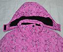 Куртка зимняя для девочки розовая (Quadrifoglio, Польша), фото 4