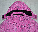 Зимняя куртка для девочки розовая (Quadrifoglio, Польша), фото 4