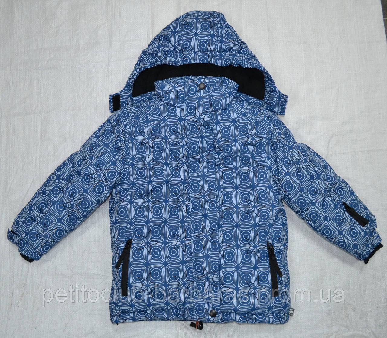 Куртка зимняя для девочки темно-синяя (Quadrifoglio, Польша)