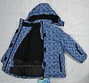 Куртка зимняя для девочки синяя (Quadrifoglio, Польша), фото 3