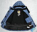 Куртка зимняя для девочки синяя (Quadrifoglio, Польша), фото 6