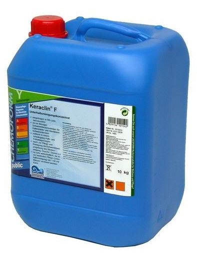 Моющее средство для закрытых бассейнов Кераклин (Keraclin F) 10 л