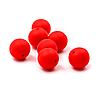 15мм (красный) круглая, силиконовая бусина, фото 2