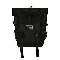 Черный большой рюкзак