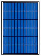 Солнечная батарея 100 Вт поликристаллическая