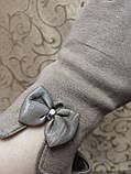 Трикотаж с сенсором женские перчатки 7 цветов для работы на телефоне плоншете ANJELA(только ОПТ), фото 3