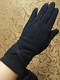 Трикотаж с сенсором женские перчатки 7 цветов для работы на телефоне плоншете ANJELA(только ОПТ), фото 2