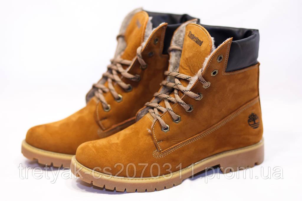 Зимние ботинки  (на меху) женские Timberland 13052 (реплика)