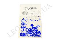 Кристаллы синего цвета для дизайна ногтей