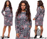 Платье женское большого размера р. 48-54