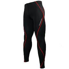 Штаны компрессионные Btoperform PY-KRL Черный с красным