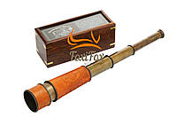 Подарочная подзорная труба в футляре 42 см