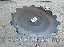 Сковорода из бороны 550 мм съемные ножки, фото 3